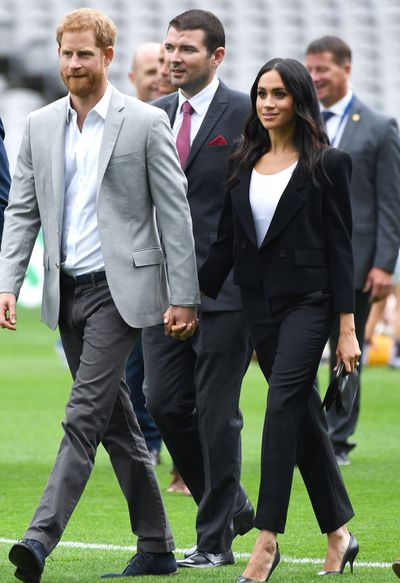 <p>DUKE AND DUCHESS OF SUSSEX IN IRELAND FOR THEIR FIRST TRIP AS A MARRIED COUPLE.&nbsp;</p>