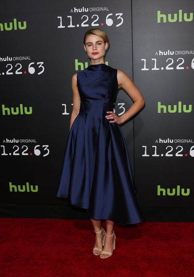 Lucy Fry at the premiere of Hulu's new series '<em>11.22.63</em>' in Los Angeles in February, 2016