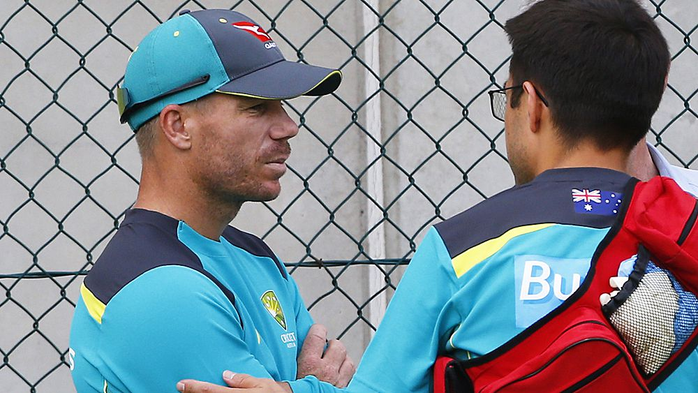 The Ashes: Aussie opener David Warner injures neck in training session in Brisbane
