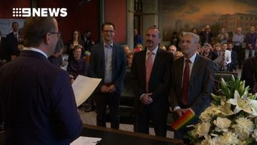 Germany hold first same-sex marriages