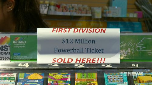 One lucky Powerball ticket holder is $12 million richer, they just don't know it yet.
