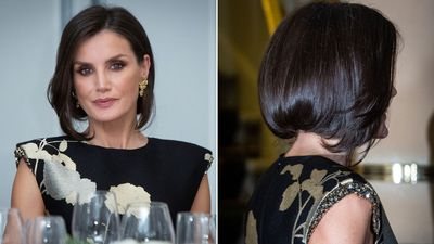 Queen Letizia attends journalism awards, November 2019