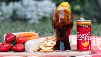 Coca-Cola No Sugar Orange has arrived for winter