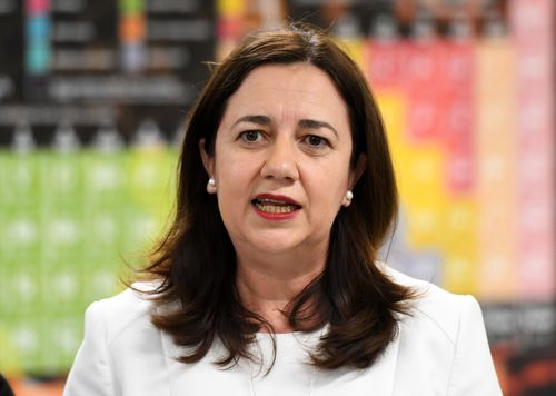 Annastacia Palaszczuk is launching a new tourism campaign aimed at capitalising on the Commonwealth Games spotlight. (AAP)