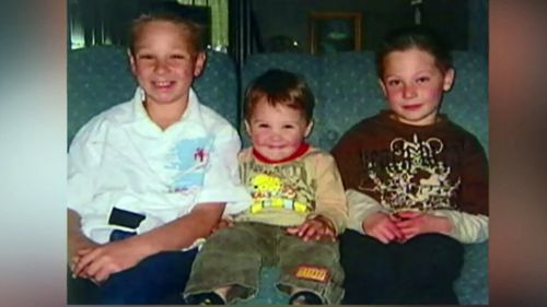 Jai, Bailey and Tyler were killed on Father's Day in 2005. (9NEWS)