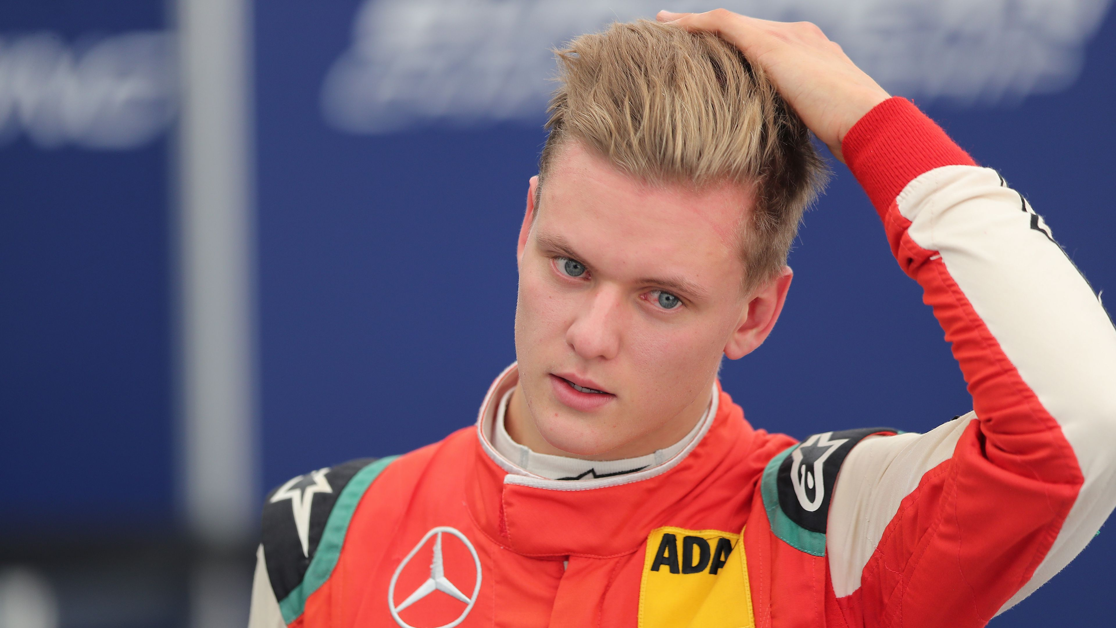 Mick Schumacher at Hockenheimring in Germany.