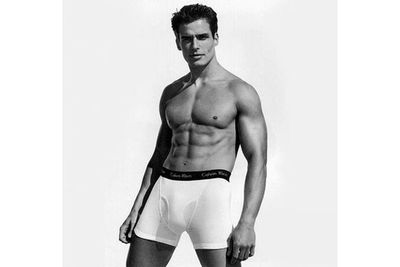 Before he worked on <i>Melrose Place</i> and <i>Bones</i>, Antonio rocked some well-fitted briefs in a '90s Calvin Klein campaign.