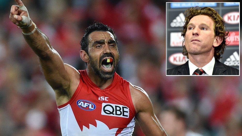 Hird laments AFL response to Goodes boos