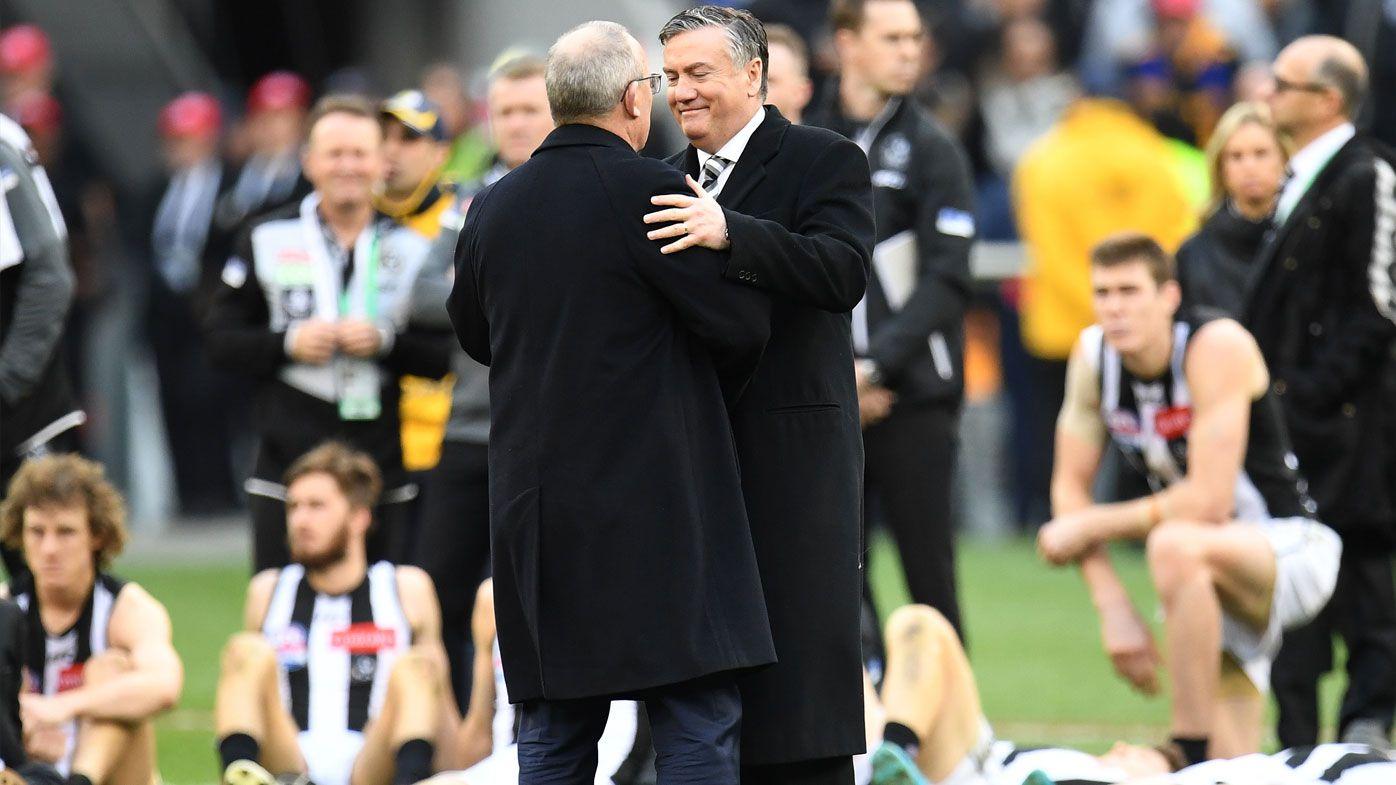 AFL: Eddie McGuire proud of Collingwood's effort in grand final loss to Eagles