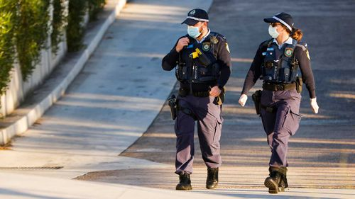 Sydney police found a man had gone to work knowing he had coronavirus.