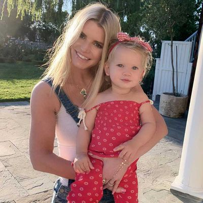 Jessica Simpson and Birdie Mae