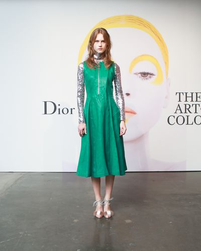 Julie Hoomans at the launch of Dior - The Art of Colour.