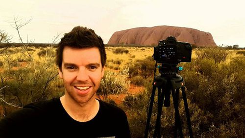 James Young, 30, is an avid storm-chaser and ppart-time photographer. Source: James Young.