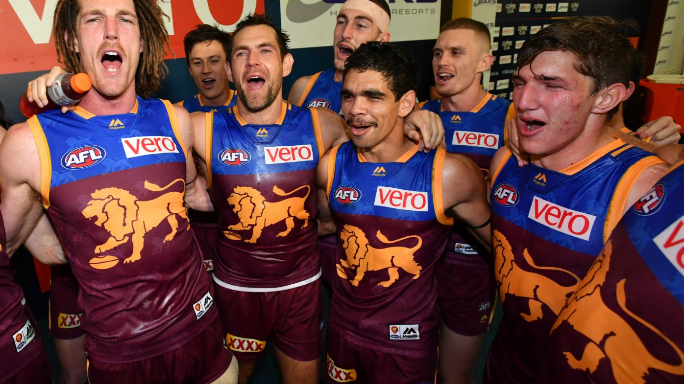 Brisbane Lions teammate says he'll take Charlie Cameron's Mark of the Year award