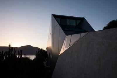 Mona Pavilions at Moorilla Estate Vineyard, Tasmania