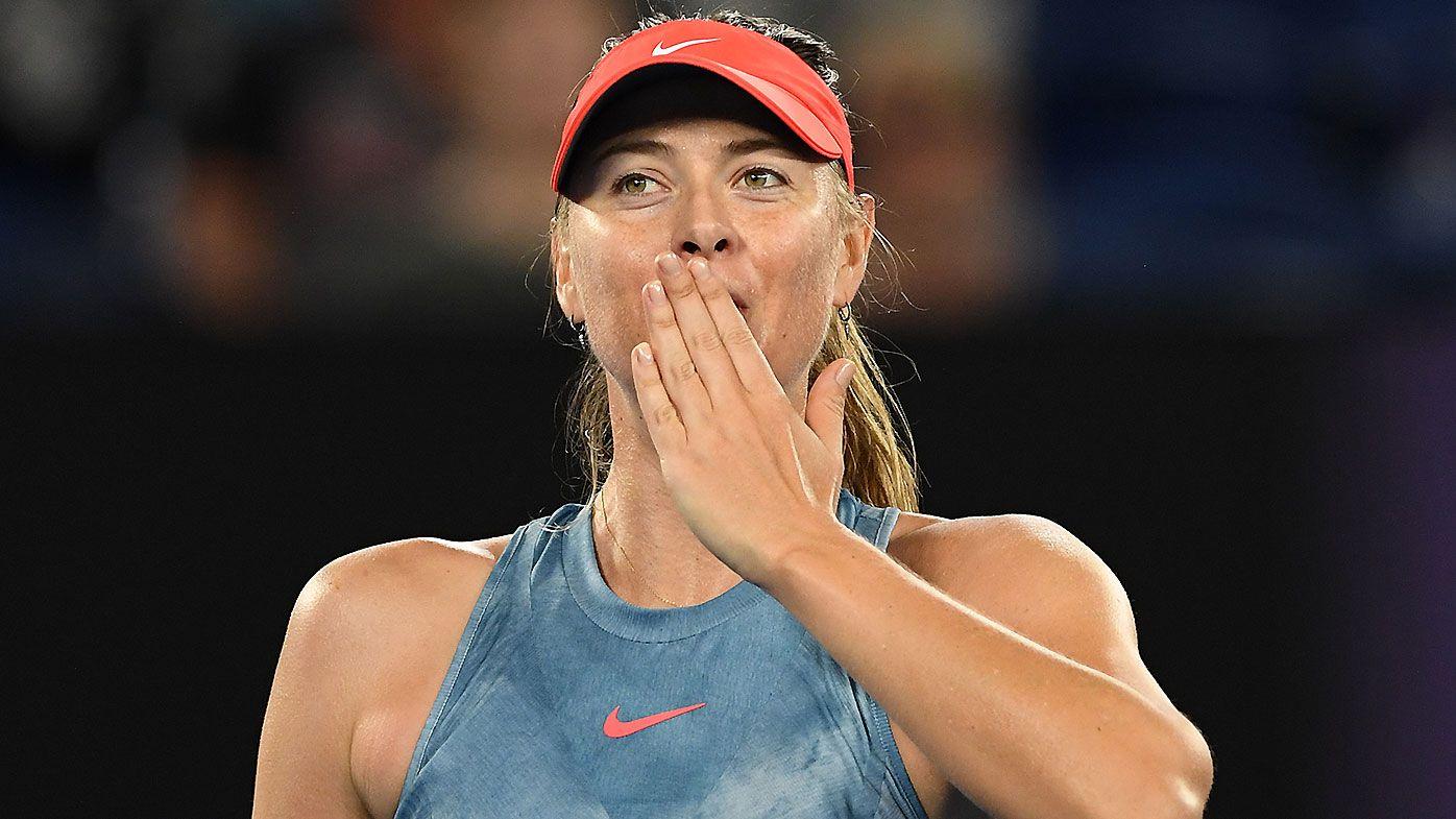 Maria Sharapova full of praise for 'phenomenal' Ashleigh Barty ahead of fourth-round clash