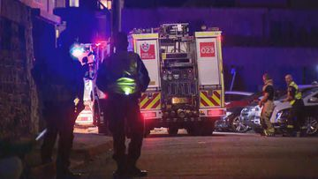 A body was found after a fire in the Drummoyne unit.