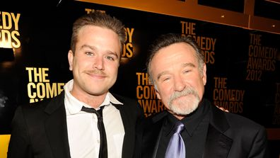 Zak Williams and Robin Williams