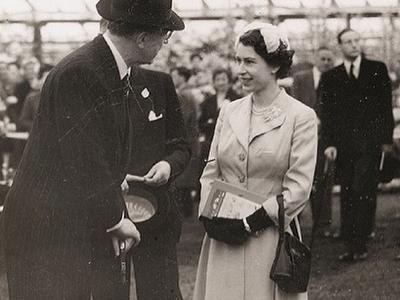 Queen Elizabeth, 1950s