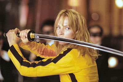 Tarantino turned Uma Thurman from bland to bad as the kick-ass Bride in the two <i>Kill Bill </i>movies. Respect.