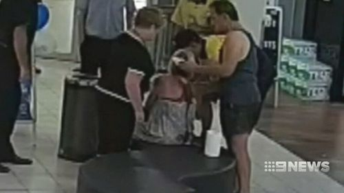 Witnesses rushed to her aid. (9NEWS)