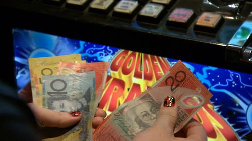 Poker machines in South Australia could soon accept notes.