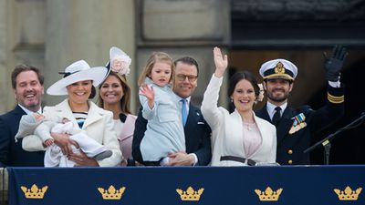 Family celebrates 70th birthday of King Carl Gustaf