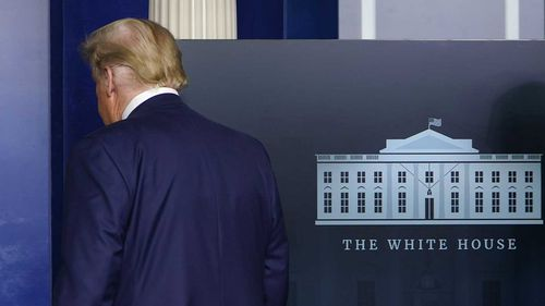Donald Trump has less than two months left in the White House.