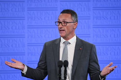 "Greens leader Richard Di Natale said the country's approach to illicit drugs was an ""unmitigated disaster"" and it was time for real reform. (AAP)"