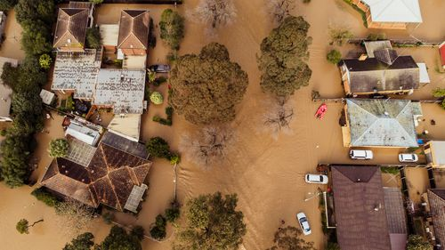 Victoria storms floods