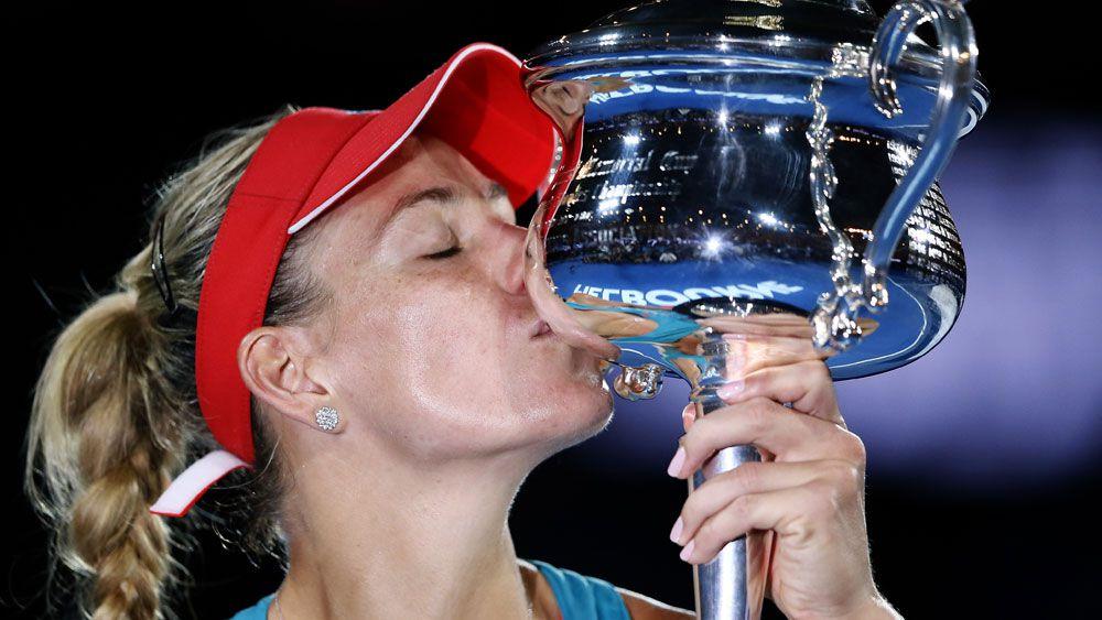 Kerber savours stunning Aust Open win