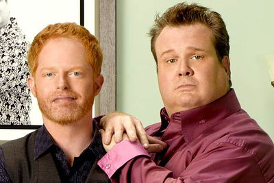 Mitchell Pritchett (Jesse Tyler Ferguson) and Cameron Tucker (Eric Stonestreet) copped some flack for never sharing a kiss in <i>Modern Family</i>'s first season. Aside from that, they were a great (not to mention hilarious) depiction of a gay couple.