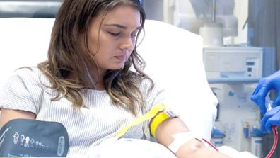 Bec's husband Ryan was going to donate one of his kidney's. Then their daughter Bo came along.