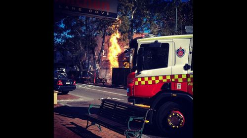 Man rushed to hospital after Lane Cove gas explosion