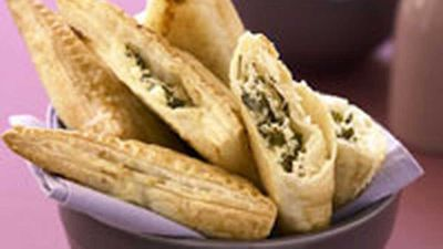 """Ricotta turnovers -<a href=""""http://kitchen.nine.com.au/2016/05/17/12/35/ricotta-turnovers"""" target=""""_top""""> view recipe</a>"""