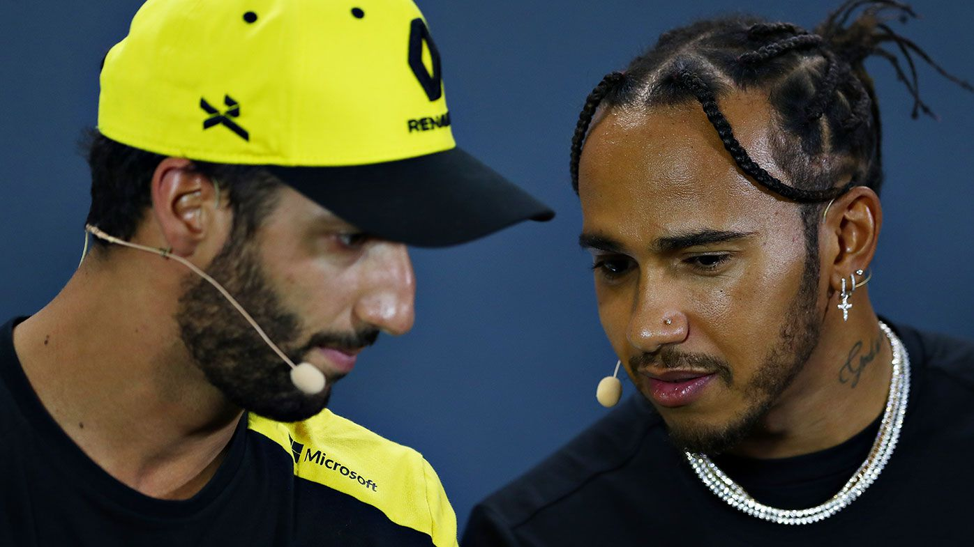 Daniel Ricciardo and Lewis Hamilton could be teammates in 2021.