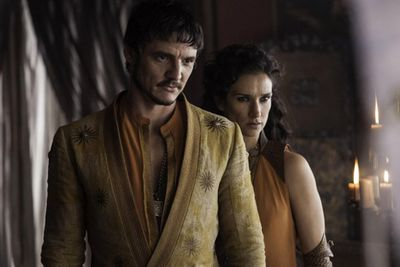 First look at the Red Viper and Ellaria! Cool, huh?