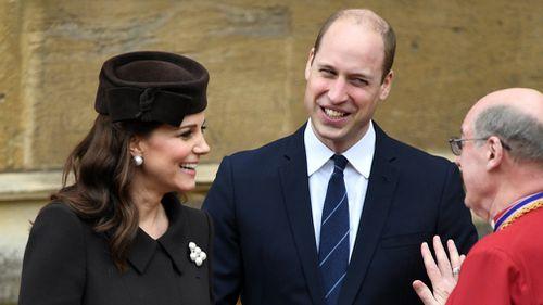 Britain's Prince William and Princess Catherine, Duke and Duchess of Cambridge (EPA).