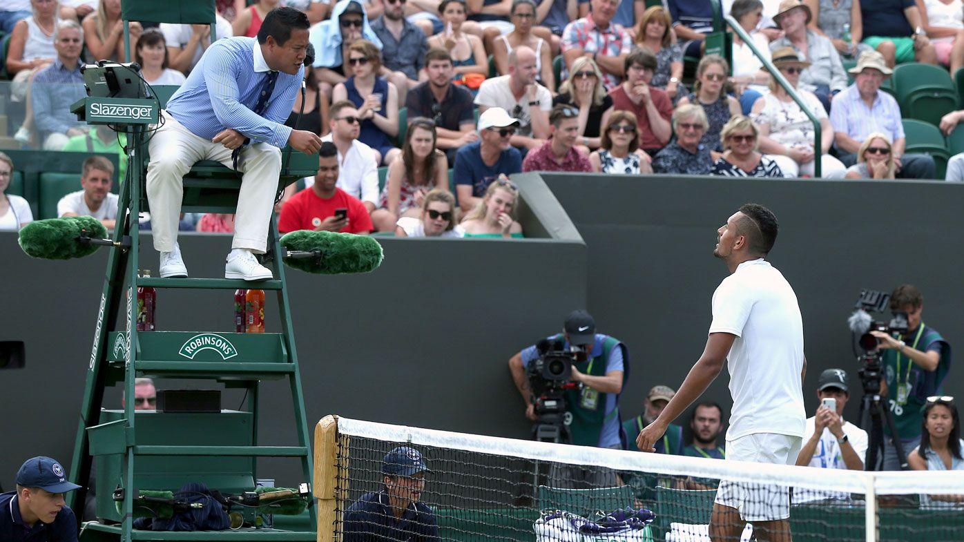 Kyrgios not getting carried away just yet