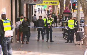 Victim of million-dollar gold heist allegedly helped stage Melbourne CBD armed robbery