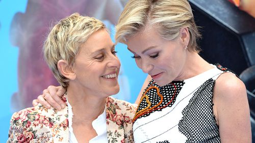 DeGeneres and Australian actress Portia de Rossi have been married since 2008. (Getty)