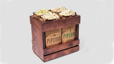 Pipcorn holiday crate