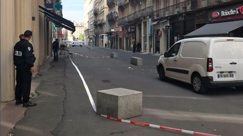 Police sources described the suspected attacker as a European or North African male