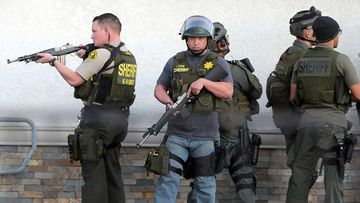 San Bernardino police. (AAP)