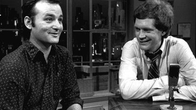 Bill Murray was David Letterman's first guest. (Supplied)