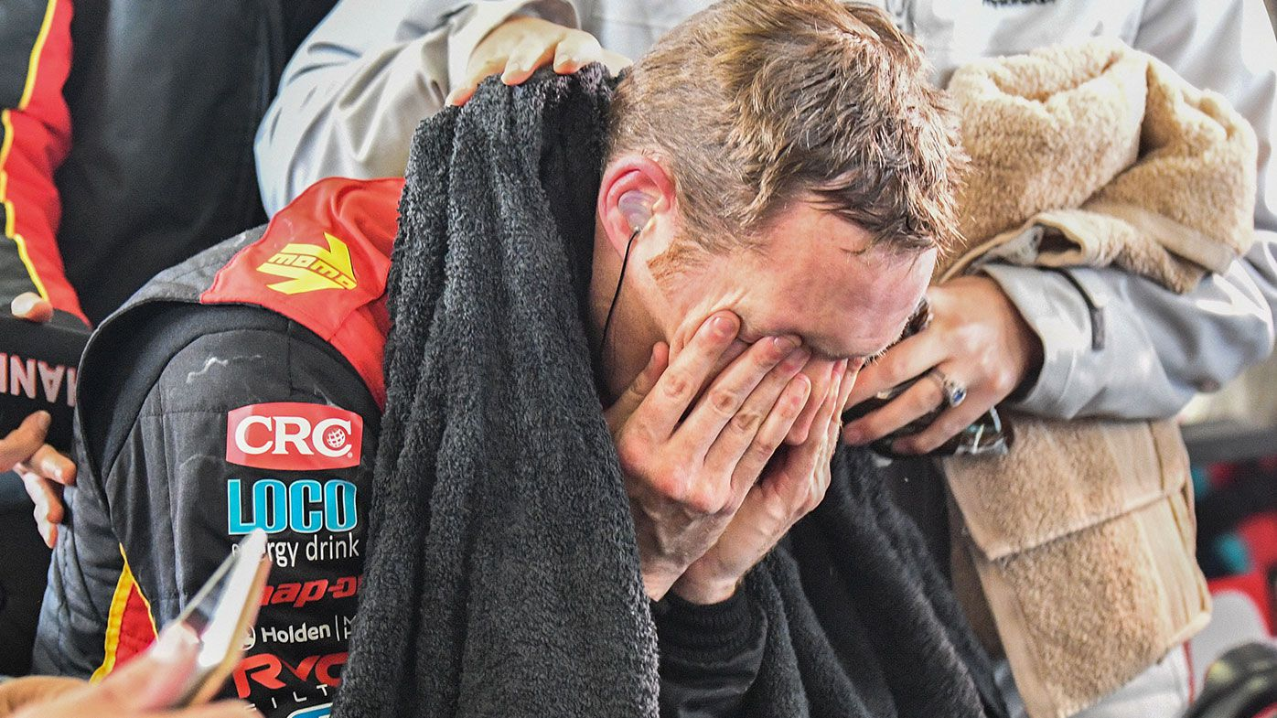 David Reynolds suffered physical exhaustion during the Bathurst 1000