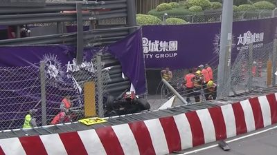 Sophia Floersch's horror crash at Macau F3 World Cup shocks motorsport world