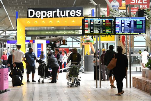 Smaller airports were worse than major centres. (AAP)
