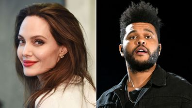 Angelina Jolie spotted having dinner with The Weeknd