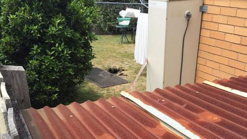 Melbourne woman rescued after falling into sinkhole while hanging out washing